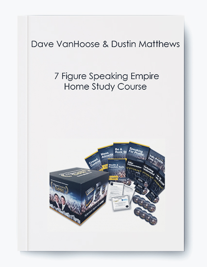 7 Figure Speaking Empire Home Study Course by Dave VanHoose and Dustin Matthews by https://koiforest.com/