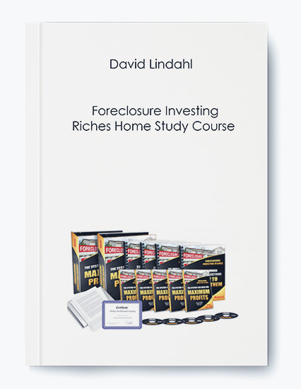 David Lindahl – Foreclosure Investing Riches Home Study Course by https://koiforest.com/