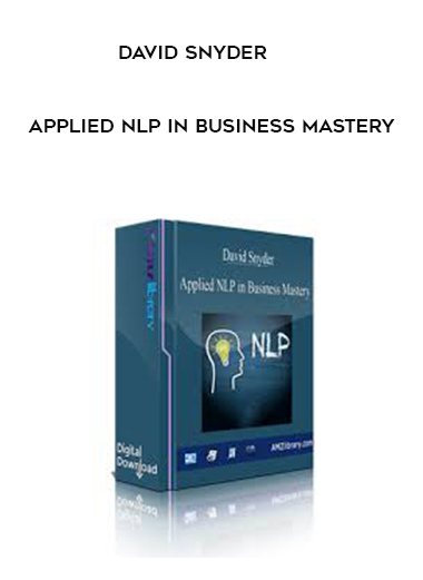 David Snyder - Applied NLP in Business Mastery by https://koiforest.com/