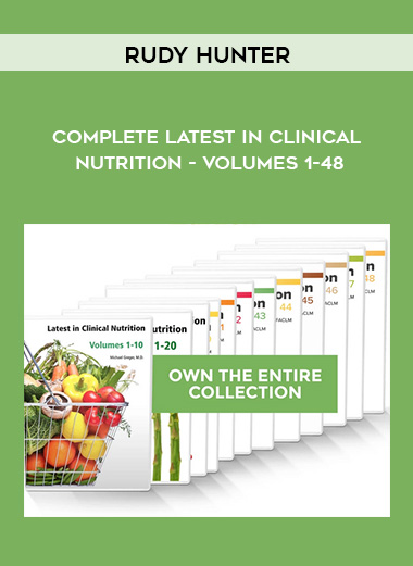 Dr. Greger - Complete Latest in Clinical Nutrition - Volumes 1-48 by https://koiforest.com/
