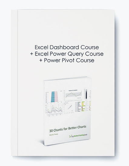 Excel Dashboard Course + Excel Power Query Course + Power Pivot Course by https://koiforest.com/