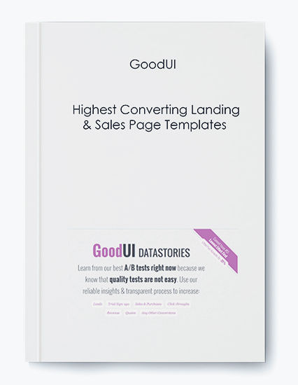 Highest Converting Landing & Sales Page Templates by GoodUI by https://koiforest.com/