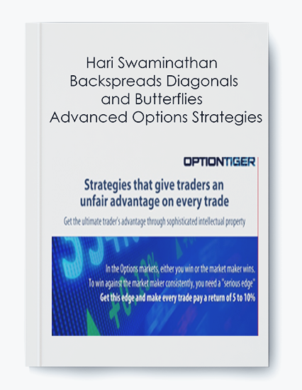 Backspreads Diagonals and Butterflies – Advanced Options Strategies by Hari Swaminathan by https://koiforest.com/