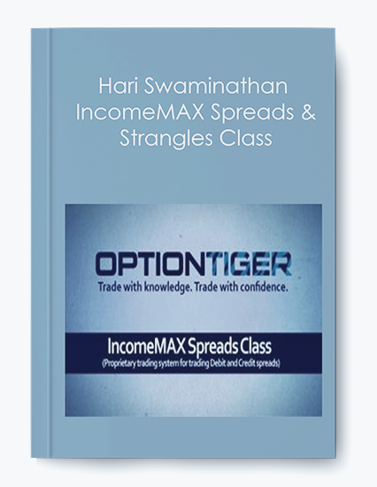 IncomeMAX Spreads & Strangles Class by Hari Swaminathan by https://koiforest.com/