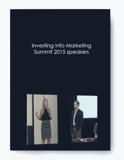 Investing Info Marketing Summit 2015 speakers by https://koiforest.com/