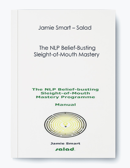Sald - The NLP Belief-Busting Sleight-of-Mouth Mastery by Jamie Smart by https://koiforest.com/