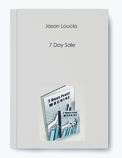 7 Day Sale by Jason Loucks by https://koiforest.com/