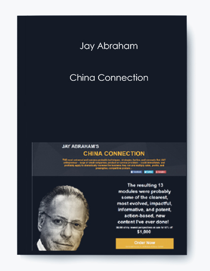 China Connection by Jay Abraham by https://koiforest.com/