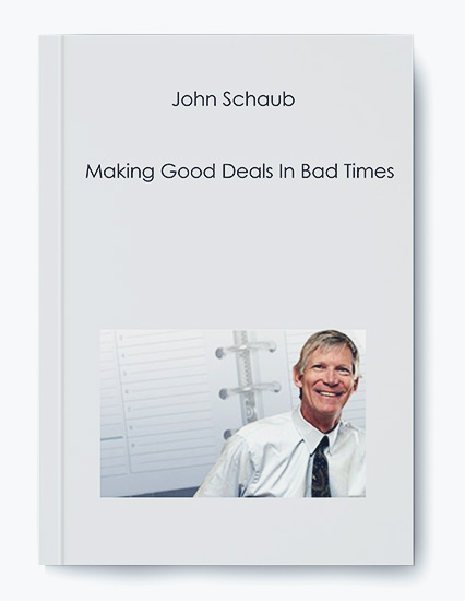 Making Good Deals In Bad Times by John Schaub by https://koiforest.com/