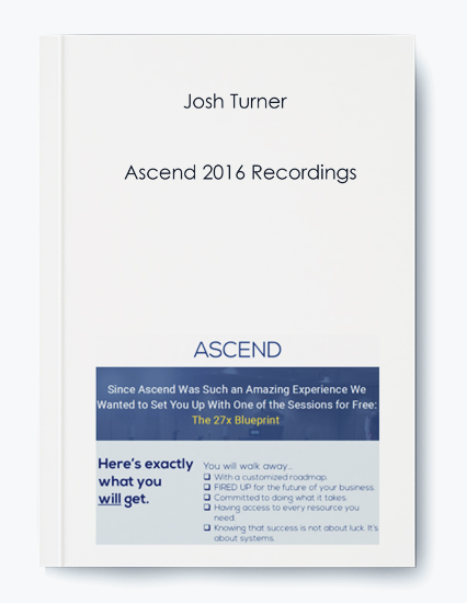 Ascend 2016 Recordings by Josh Turner by https://koiforest.com/