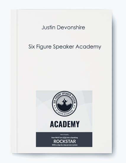 Six Figure Speaker Academy by Justin Devonshire by https://koiforest.com/