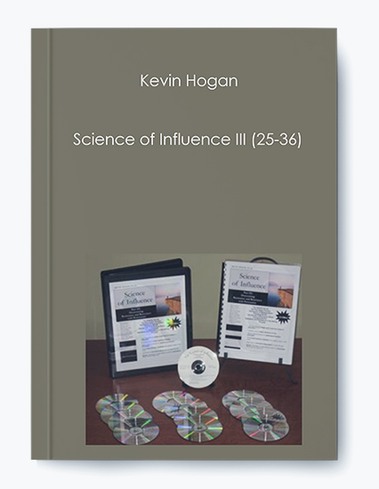 Kevin Hogan – Science of Influence III (25-36) by https://koiforest.com/