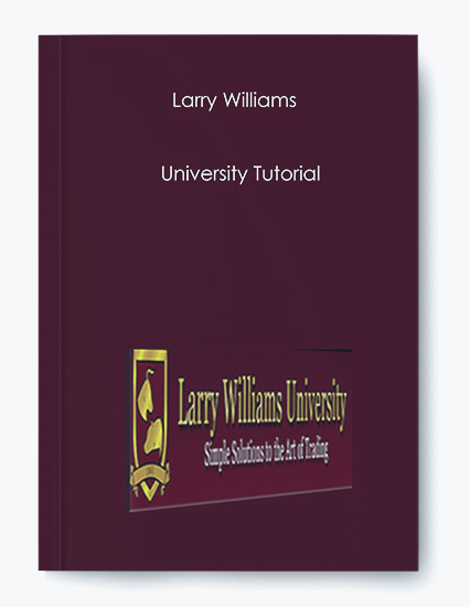 Larry Williams – University Tutorial (Video) by https://koiforest.com/