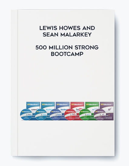 Lewis Howes and Sean Malarkey – 500 Million Strong Bootcamp by https://koiforest.com/