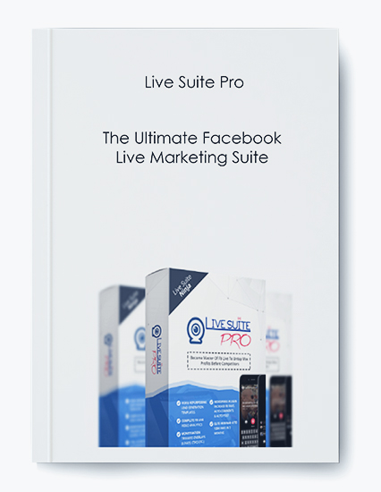 Live Suite Pro – The Ultimate Facebook Live Marketing Suite $97(Front end) +$97(OTO1) +$97(OTO2) + $497 ( OTO3 Developer Version for me to create accounts) by https://koiforest.com/