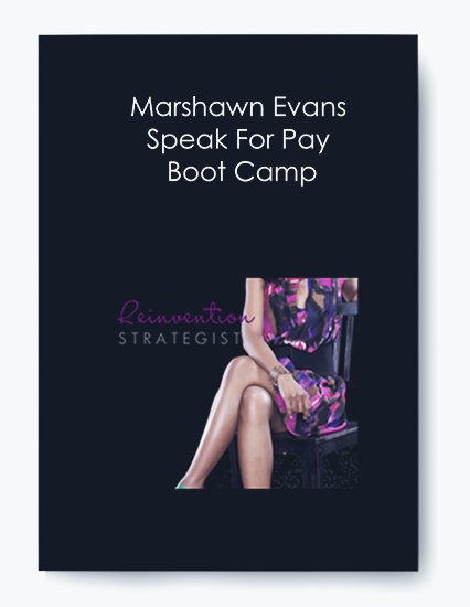 Marshawn Evans – Speak For Pay Boot Camp by https://koiforest.com/