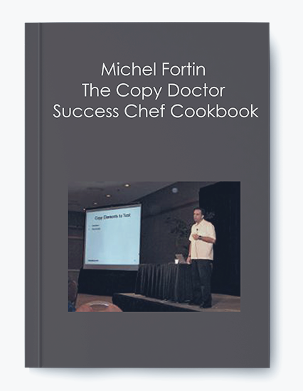 Michel Fortin – The Copy Doctor – Success Chef Cookbook by https://koiforest.com/