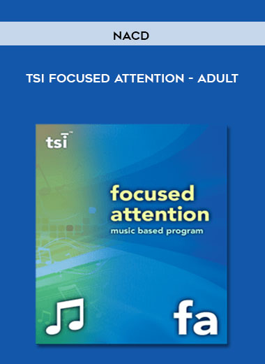 NACD - TSI Focused Attention - Adult by https://koiforest.com/