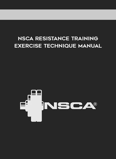 NSCA Resistance Training Exercise Technique Manual by https://koiforest.com/