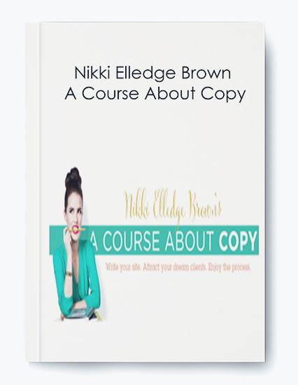 A Course About Copy by Nikki Elledge Brown by https://koiforest.com/