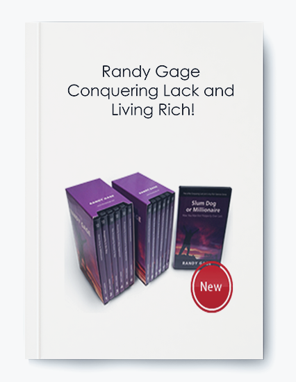 Conquering Lack and Living Rich! by Randy Gage by https://koiforest.com/