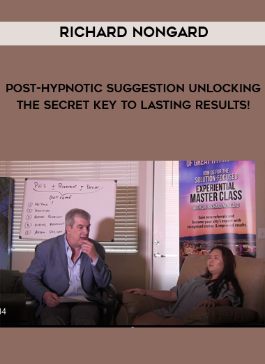 Post-Hypnotic Suggestion Unlocking the Secret Key to Lasting Results! by Richard Nongard by https://koiforest.com/