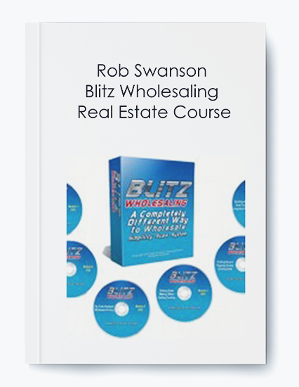 Blitz Wholesaling Real Estate Course by Rob Swanson by https://koiforest.com/