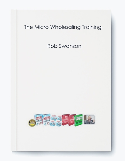 The Micro Wholesaling Training by Rob Swanson by https://koiforest.com/