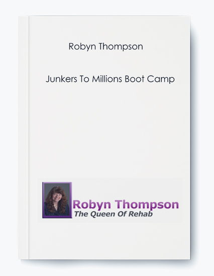 Junkers To Millions Boot Camp BY Robyn Thompson by https://koiforest.com/