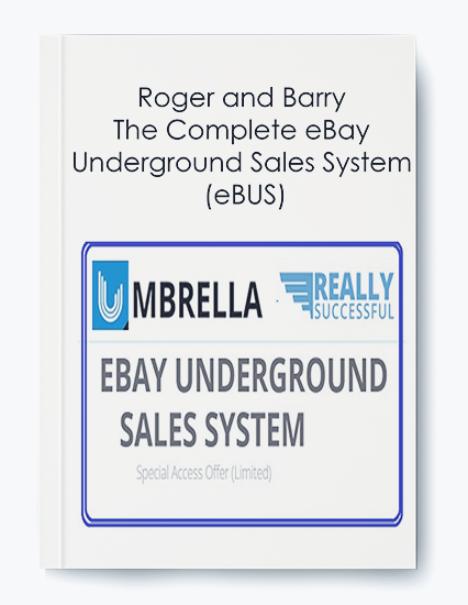 Roger and Barry – The Complete eBay Underground Sales System (eBUS) by https://koiforest.com/