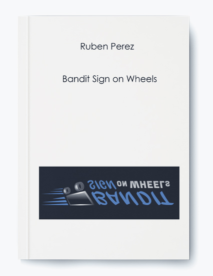 Bandit Sign on Wheels by Ruben Perez by https://koiforest.com/