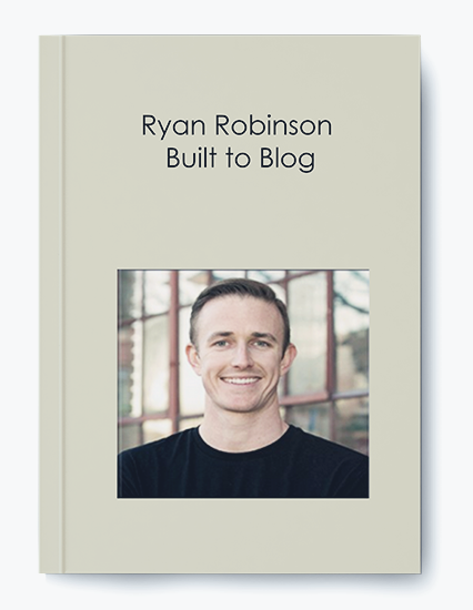 Built to Blog by Ryan Robinson by https://koiforest.com/