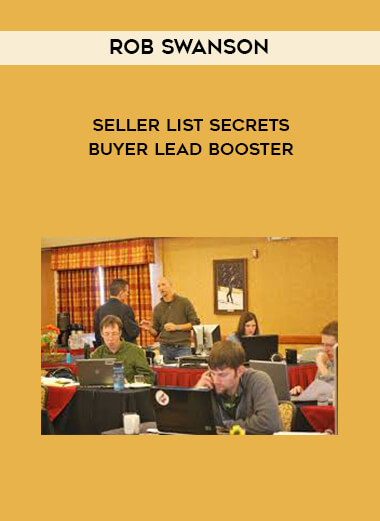 Seller List Secrets + Buyer Lead Booster by Rob Swanson by https://koiforest.com/