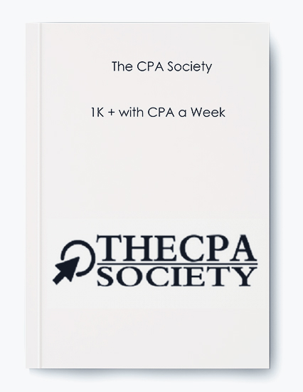 The CPA Society – 1K + with CPA a Week by https://koiforest.com/