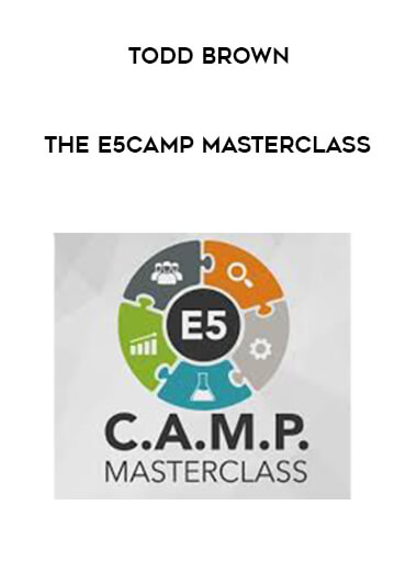 The E5CAMP Masterclass by Todd Brown by https://koiforest.com/