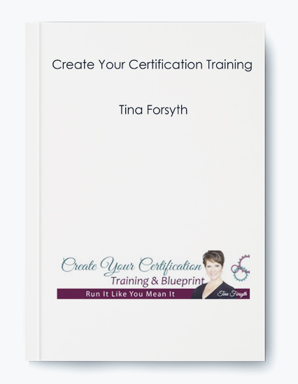 Create Your Certification Training by Tina Forsyth by https://koiforest.com/