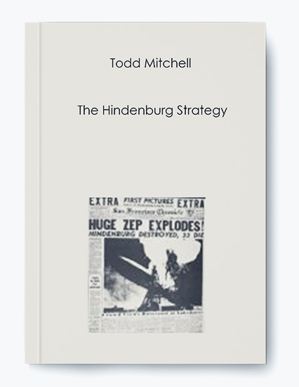 Todd Mitchell – The Hindenburg Strategy by https://koiforest.com/