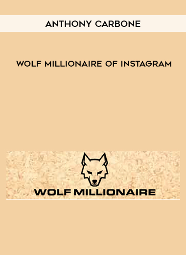 Wolf Millionaire of INSTAGRAM by Anthony Carbone by https://koiforest.com/