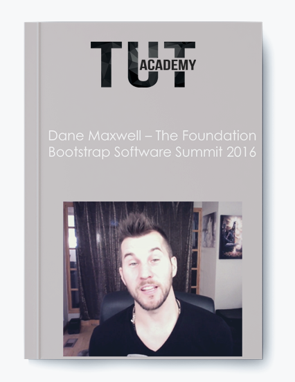 Dane Maxwell – The Foundation Bootstrap Software Summit 2016 by https://koiforest.com/