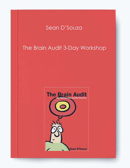 The Brain Audit 3-Day Workshop by Sean D'Souza by https://koiforest.com/