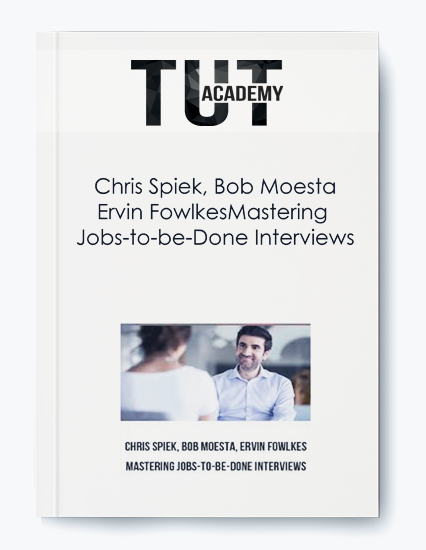 Ervin Fowlkes – Mastering Jobs-to-be-Done Interviews by https://koiforest.com/
