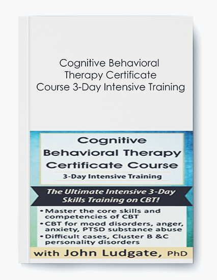 Cognitive Behavioral Therapy Certificate Course 3-Day Intensive Training by https://koiforest.com/