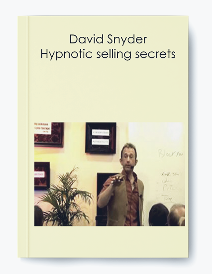 Hypnotic selling secrets by David Snyder by https://koiforest.com/