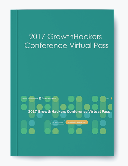 2017 GrowthHackers Conference Virtual Pass by https://koiforest.com/