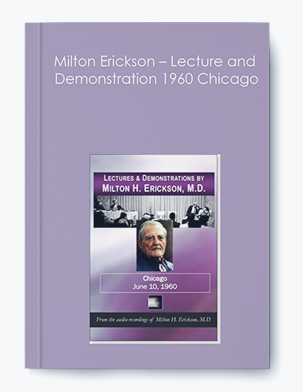 Milton Erickson – Lecture and Demonstration 1960 Chicago by https://koiforest.com/