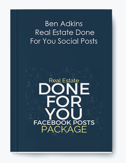 Ben Adkins – Real Estate Done For You Social Posts by https://koiforest.com/