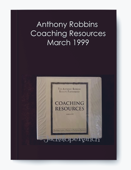 Anthony Robbins – Coaching Resources March 1999 by https://koiforest.com/