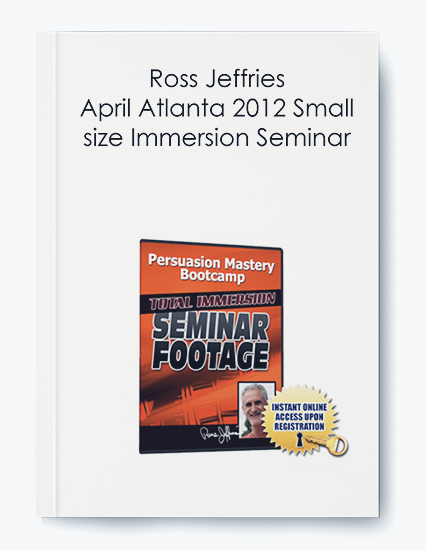 April Atlanta 2012 Small size Immersion Seminar by Ross Jeffries by https://koiforest.com/