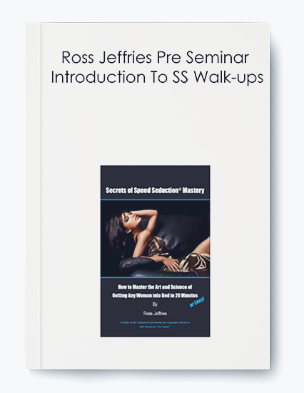 Ross Jeffries Pre Seminar – Introduction To SS Walk-ups by https://koiforest.com/