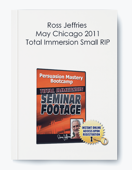 Ross Jeffries – May Chicago 2011 Total Immersion Small RIP by https://koiforest.com/